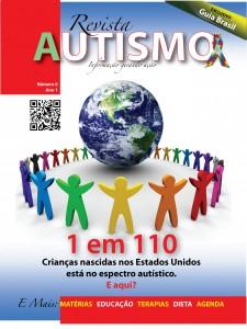 Capa da edição de lançamento da Revista Autismo, a número zero, de setembro/2010