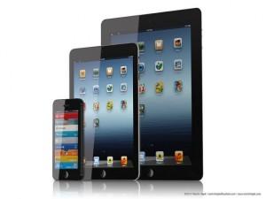 Iphone, iPad Mini e iPad 4